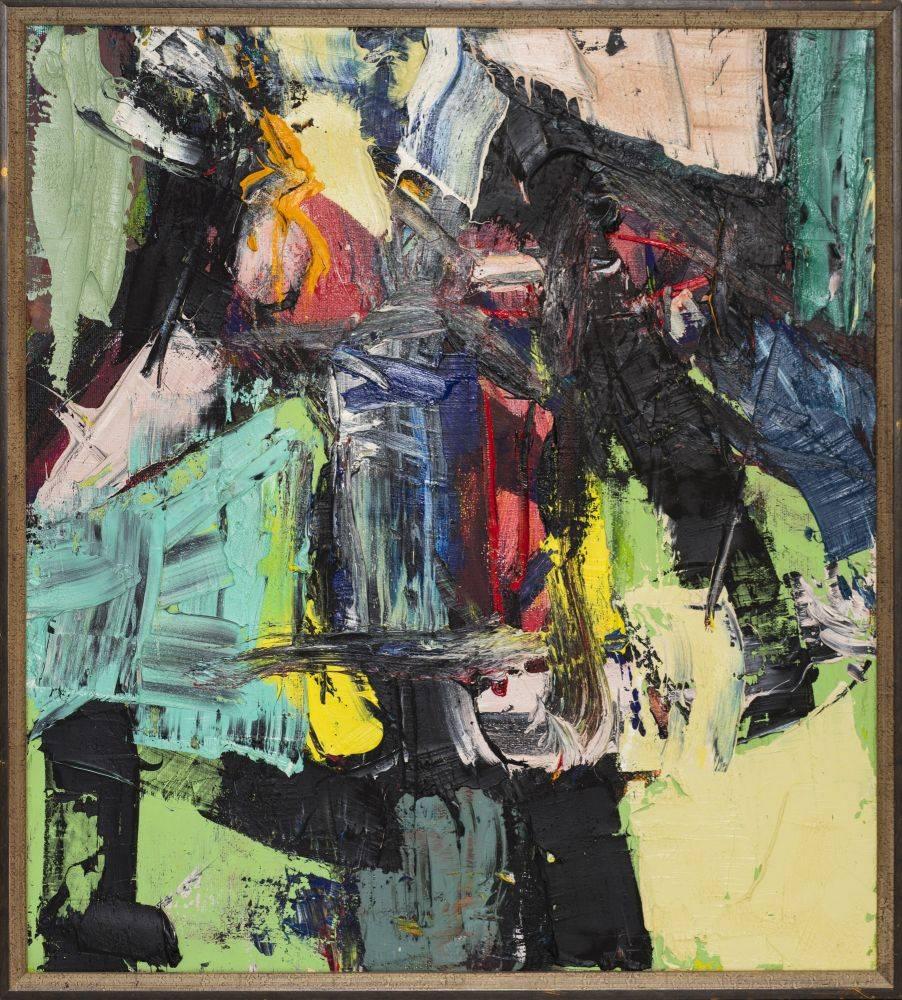 Bez tytułu - Tadeusz Świniarski (2013), obraz olejny na płótnie