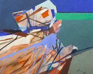 Kaleidoscope V - Anna Nosowicz Ruiz (2017), obraz olejny na płótnie