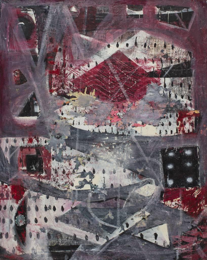 Interior - Anna Jarzymowska (2013), obraz olejny na płótnie