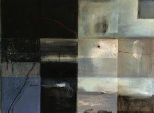 Powidoki z Saint Vaast, 2016, olej, 70x 95 cm (2)