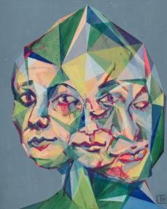 3 - Tomasz Piątek (2015), obraz akrylowy na płótnie