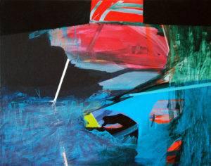 Horizonte 2 _40x50cm_akryl na płótnie