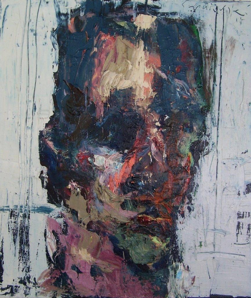 Heniek - Tadeusz Świniarski (2017), obraz olejny na płótnie