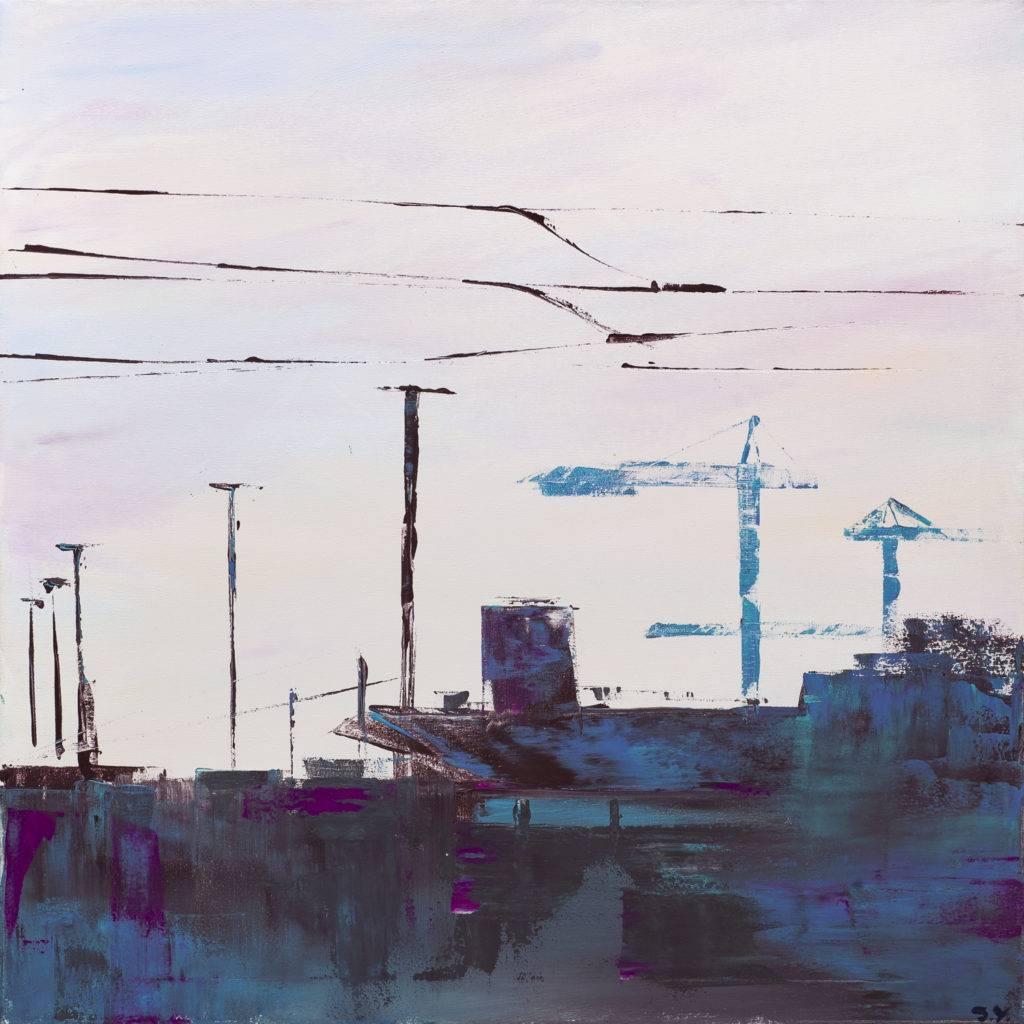 Twilight - Yuliya Stratovich (2018), obraz akrylowy na płótnie