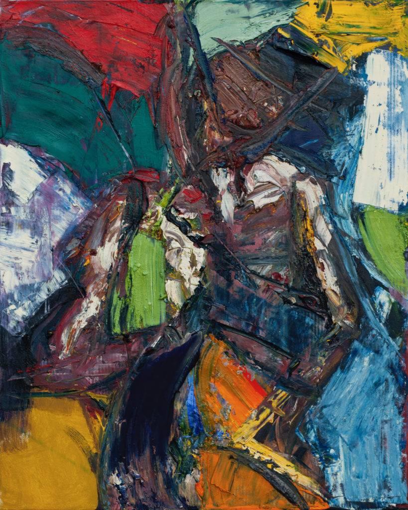 Bez tytułu - Tadeusz Świniarski (2018), obraz olejny na płótnie