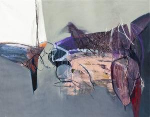 Barok 17 - Agata Czeremuszkin-Chrut (2018), obraz akrylowo-olejny na płótnie