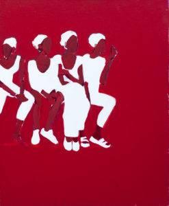 Bez tytułu - Iwona Kobryń (2008), obraz akrylowy na płótnie