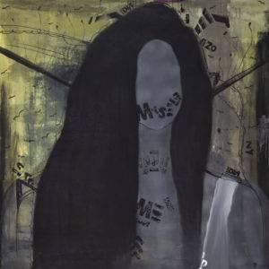 Me, Myself and I - Viola Pryba Hadaś (2019), obraz olejny na płótnie
