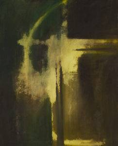 Wnikanie - Katarzyna Świnder (2019), obraz olejny na płótnie