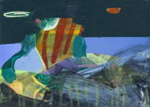landscape ii - Anna Nosowicz Ruiz (2019), akRyl, płótno