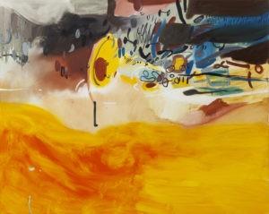 Na chwilę przed - Daria Pyrchała (2019), obraz olejny na płótnie