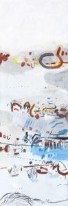 Pewne miejsca - Daria Pyrchała (2019), obraz olejny na płótnie