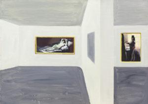 Muzeum II - Tymon Tryzno (2019), obraz olejny na płótnie