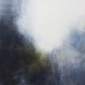 Lśnienia 1 - Weronika Braun (2018), obraz olejny na płótnie