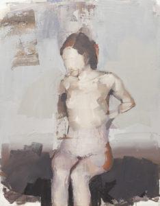 Bez tytułu (256) - Marcin Ziółkowski (2019), obraz olejny na płótnie
