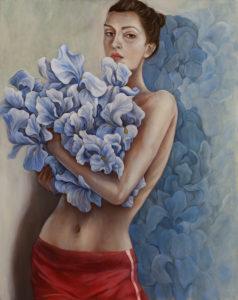 Tak dużo, tak wiele - Agnieszka Potrzebnicka (2020), obraz olejny na płótnie
