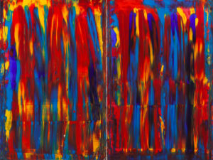 Lume - Dominik Smolik (2020), obraz akrylowy na płótnie
