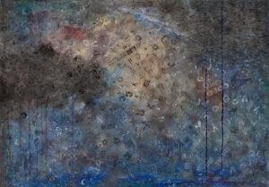 Quarantine - Viola Pryba Hadaś (2020), obraz akrylowy na płótnie