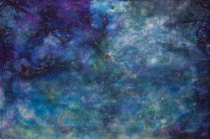 Diary - Viola Pryba Hadaś (2020), obraz akrylowy na płótnie