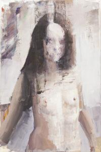 Bez tytułu (297) - Marcin Ziółkowski (2020), obraz olejny na płótnie