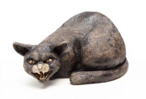 Kot - Aneta Śliwa (2020), ceramika szkliwiona