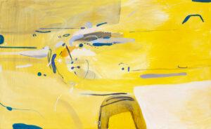 Letnie rozmowy - Daria Pyrchała (2020), obraz olejny na płótnie