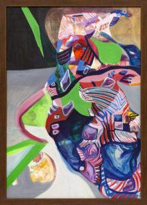 Przeistaczanie z cyklu Artefakty - Joanna Róg-Ociepka (2018), obraz olejny na płótnie
