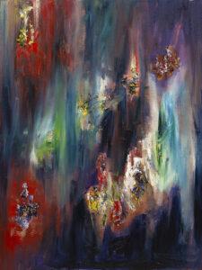 Bez tytułu - Kacper Zaorski-Sikora (2020), obraz olejny na płótnie