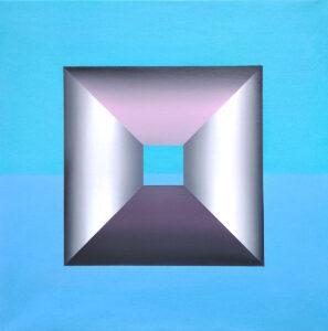 Nadzieja - Katarzyna Środowska (2020), obraz olejny na płótnie
