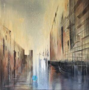 Wenecja - Jolanta Haluch (2019), obraz olejny na płótnie