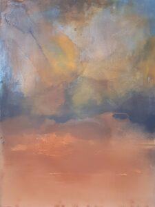 Lśnienie 20 - Weronika Braun (2020), obraz olejny na płótnie