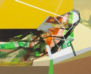 Kaleidoscope I - Anna Nosowicz Ruiz (2017), obraz akrylowy na płótnie