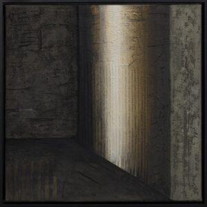 Ściany świata 09 - Ewa Zawadzka (2019), obraz na płótnie wykonany techniką własną