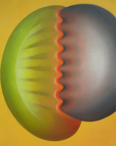 Souvenir - Monika Kopczewska (2020), obraz olejny na płótnie