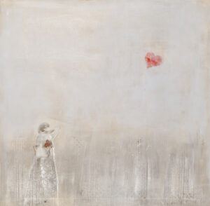 A zdarzyć miał się cud - Malwina Cieślik (2020), obraz akrylowy na płótnie