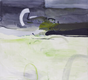 Jak przyjemnie - Daria Pyrchała (2020), obraz olejny na płótnie