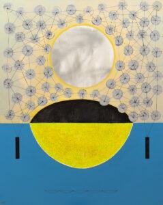 Naczynie - Marlena Wąsowska (2020), obraz akrylowy na płótnie
