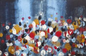Wędrówka - Marta Dunal (2020), obraz akrylowy na płótnie