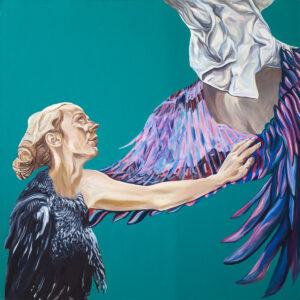 Retrospekcja - Joanna Róg-Ociepka (2017), obraz olejny na płótnie
