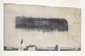 Neue Ordnung (B) - Tomasz Daniec (2001), akwaforta, papier