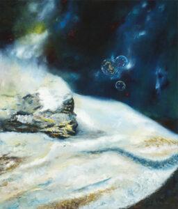 Z cyklu Ex-Aqua – E5 - Adam Piotr Rutkowski (2017), obraz olejny na płótnie