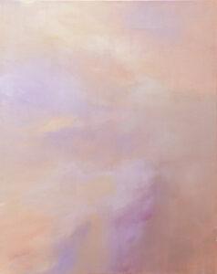 Sky - Yuliya Stratovich (2020), obraz akrylowy na płótnie