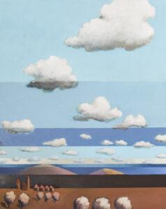 Osada 22 - Jakub Szymański (2020), obraz akrylowy na płótnie