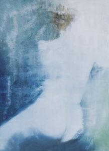 Powłoki skórne blade II - Kamila Nyckowska (2020), obraz olejny na płótnie
