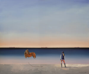 Zaufanie - Katarzyna Środowska (2020), obraz olejny na płótnie