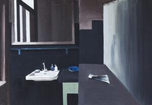 Bez tytułu - Tymon Tryzno (2019), obraz olejny na płótnie