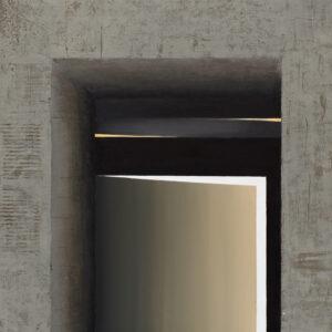 Z cyklu Opowieści pejzażu 0318 - Ewa Zawadzka (2020), obraz na płótnie wykonany techniką własną