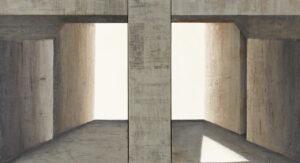 Z cyklu Na krawędzi światła 0416 - Ewa Zawadzka (2020), obraz na płótnie wykonany techniką własną