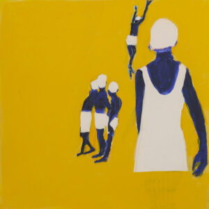 Bez tytułu - Iwona Kobryń (2020), obraz akrylowy na płótnie