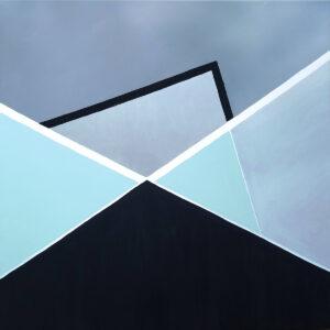 Geometric I - Sylwia Jóźwiak (2020), obraz akrylowy na płótnie